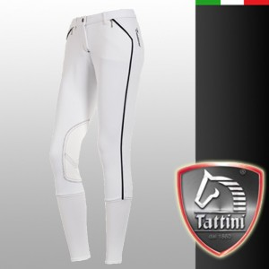 Ginestra show breeches in white