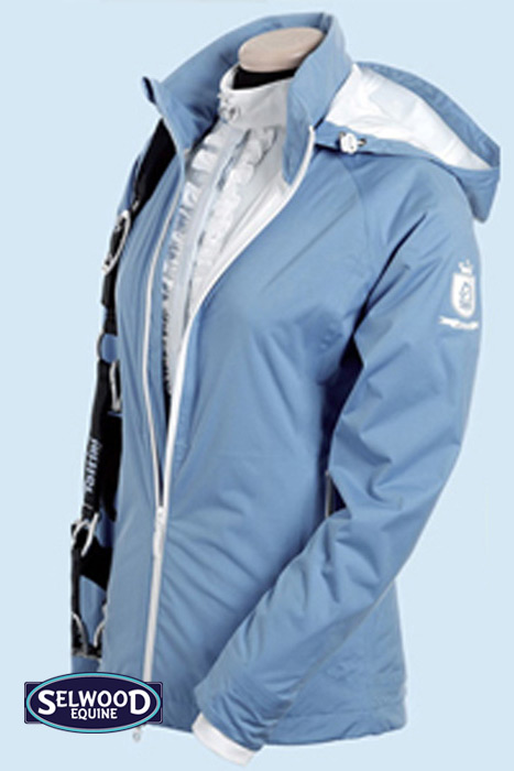 Tattini lightweight jacket light blue